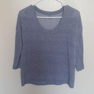 """Loungewear 3/4"""" Sleeved Top"""